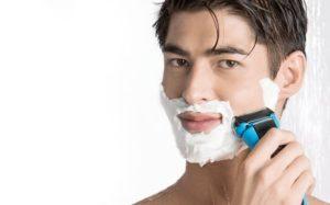 влажное бритье
