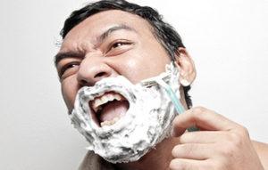 порез бритвой