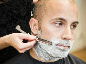 техника бритья