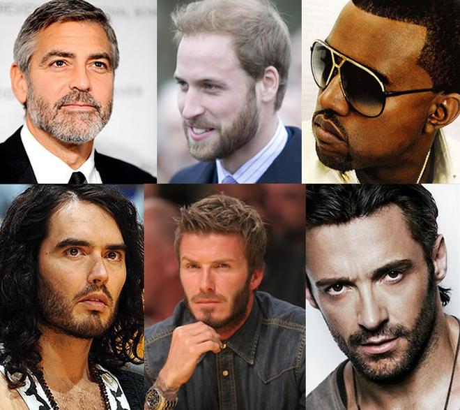 Бороды для разных форм лица