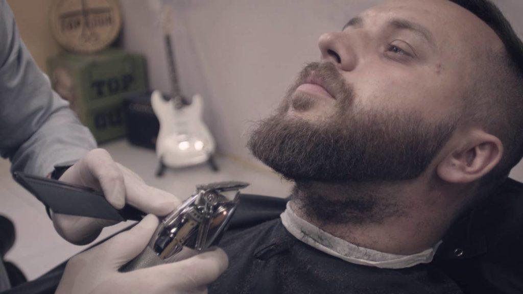 Моделирование короткой бороды