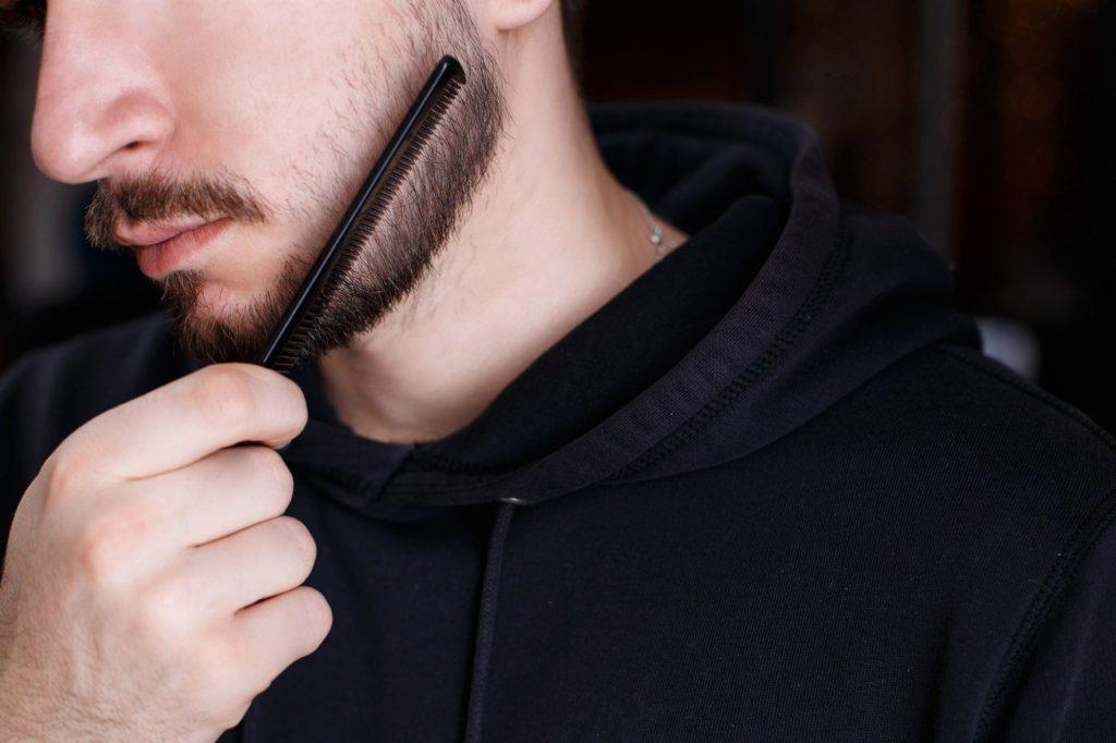 Мужская стрижка бороды и усов