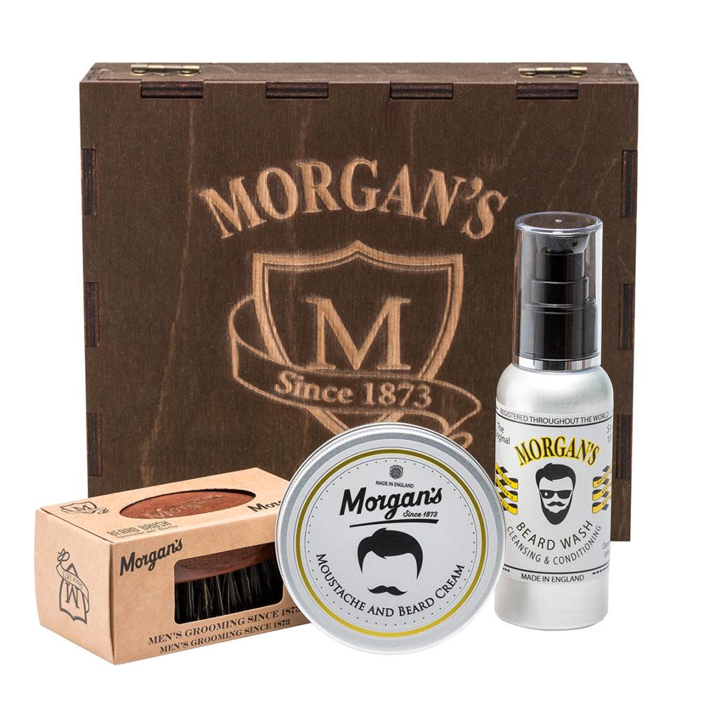 Набор по уходу за бородой Morgans Pomade