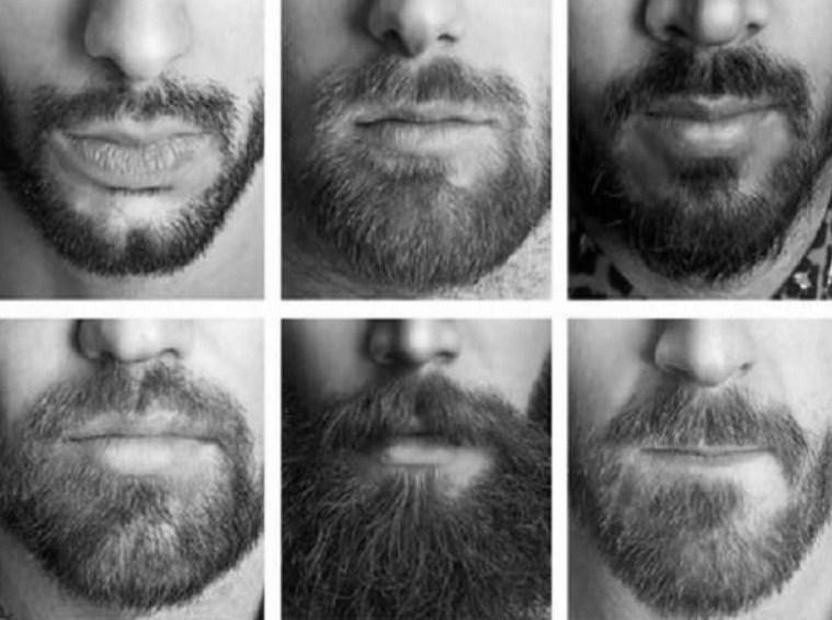 Стадии отращивания бороды