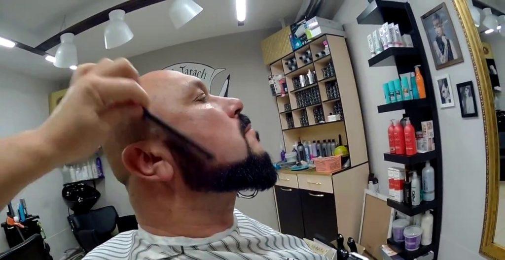 Стрижка бороды в салоне