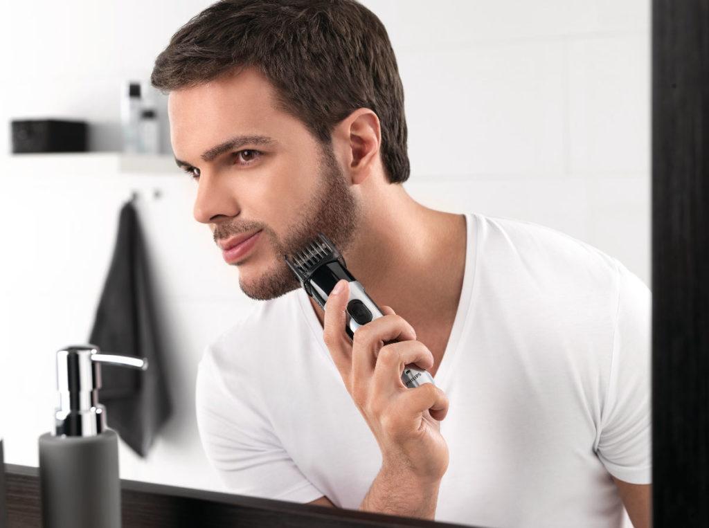 Моделирование бороды и усов