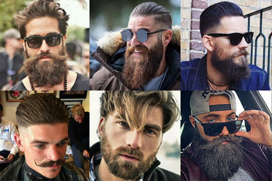 Модные стрижки бороды и усов 2021