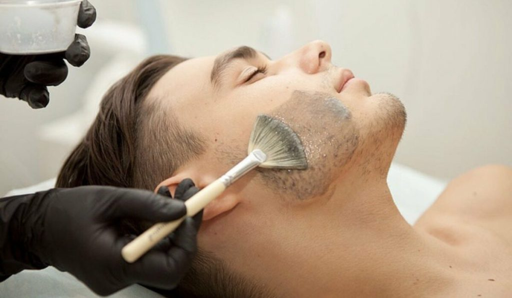 Пилинг для бороды