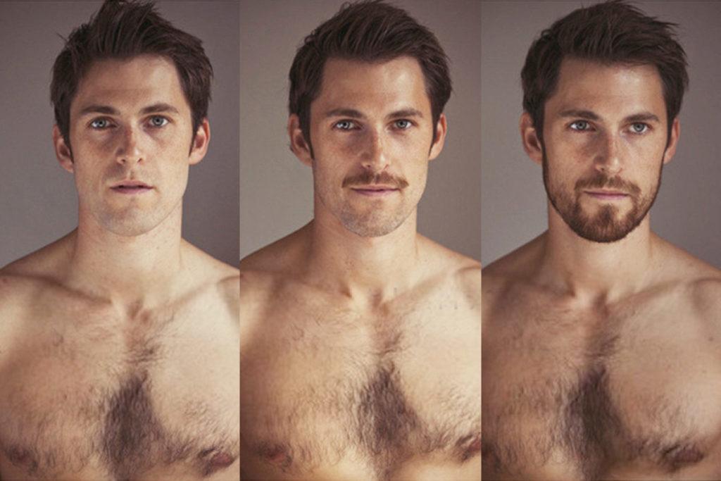 Этапы роста бороды и усов