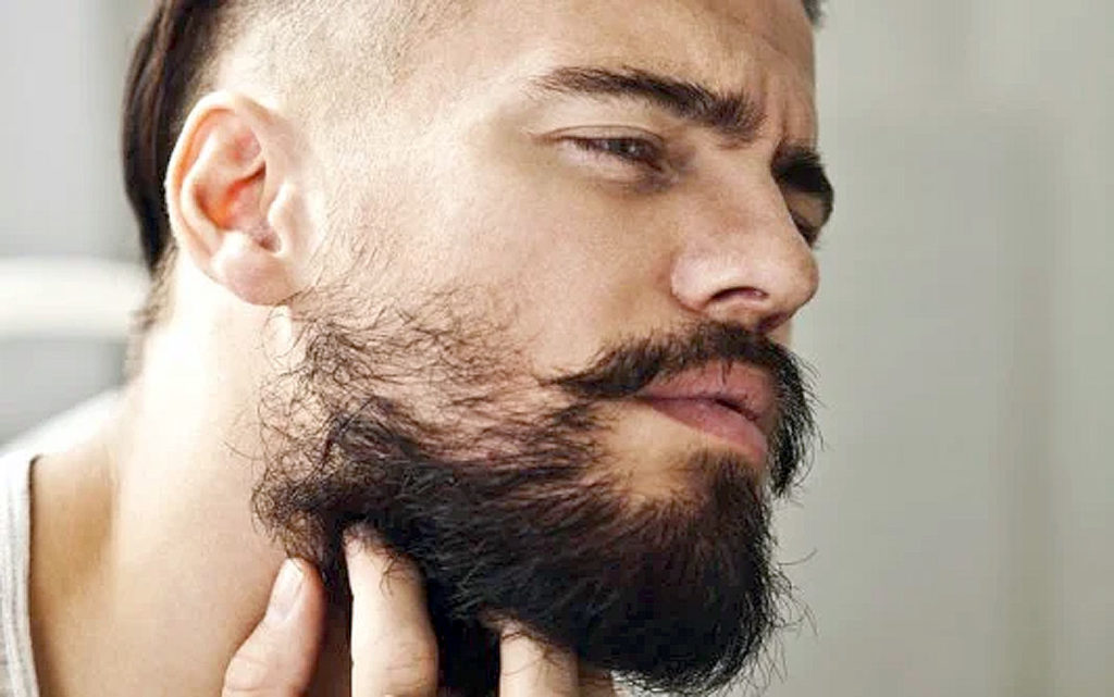 Месячная борода у мужчины
