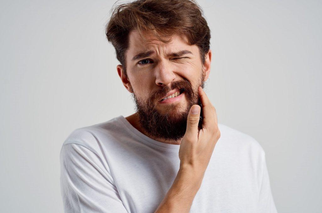 Чесание бороды