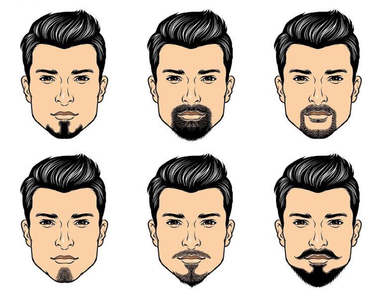 Формы бороды и усов