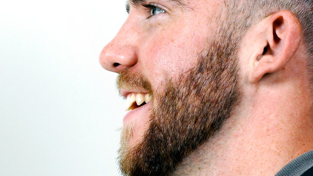 Мужская растительность на лице