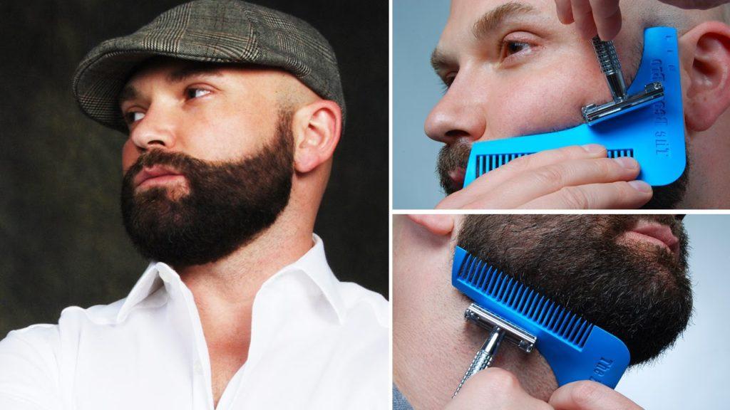 Правильный контур бороды